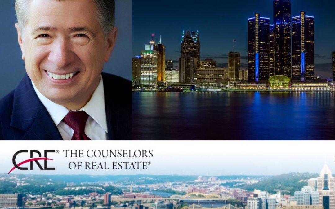 Robert J. Pliska, CRE Announces the Top Ten Issues Affecting Real Estate